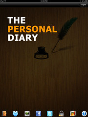 Personal Diary App On iTunes App Store-Personal Diary App For iPad.